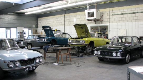 Casa Lancia workshop